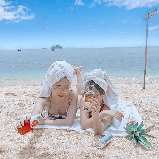 Đảo Cái Chiên Quảng Ninh đẹp bình yên qua ảnh check-in của giới trẻ 16
