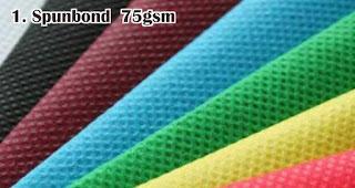 Spunbond  75gsm merupakan salah satu bahan yang sering digunakan untuk membuat tas serut