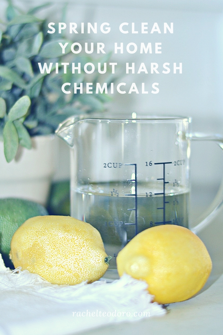 spring cleaning tips without harsh chemicals