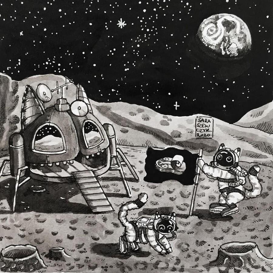11-Lunar-landing-Sara-Szewczyk-www-designstack-co