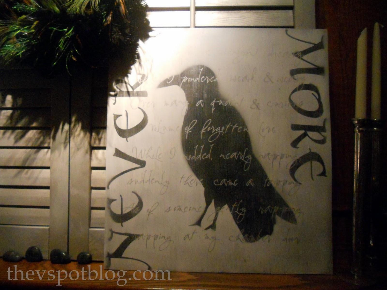 if edgar allan poe had been given some contact paper a cricut edgar allan poe raven artwork tutorial