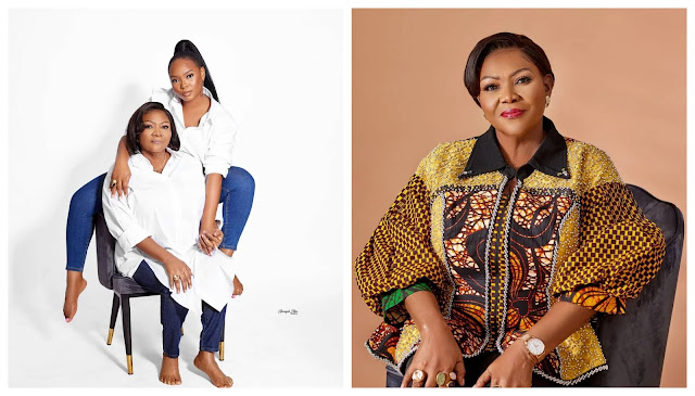 Im so Thankful that You chose me and Birthed me- Yemi Alade showers praises on her mom as she turns a year older (Photos)