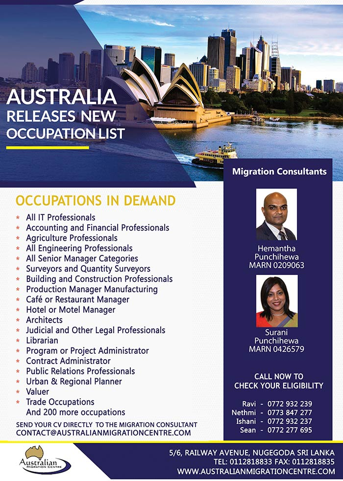 Australian Migration Centre | New quotas arrived - Live, Work & Study in Australia.