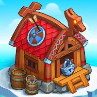 North Dragon Island – build Vikings Farm Mod Apk