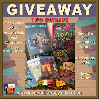 Araceli's Path tour giveaway graphic. Prizes to be awarded precede this image in the post text.