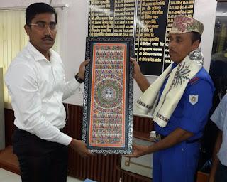 madhubani-dm-honored-sdrf-team