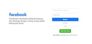Hompage Facebook Terbaru