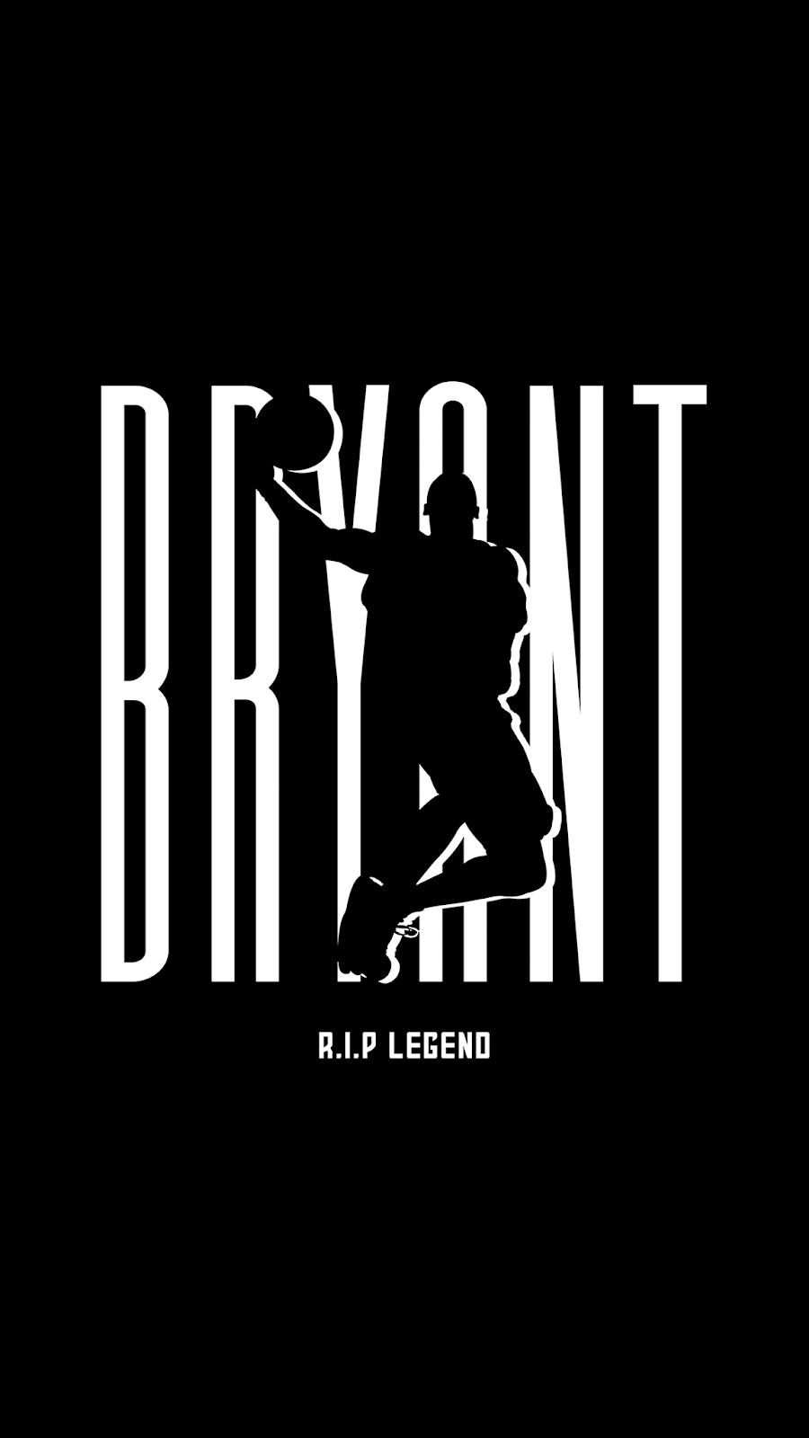 R.I.P kobe bryant wallpaper