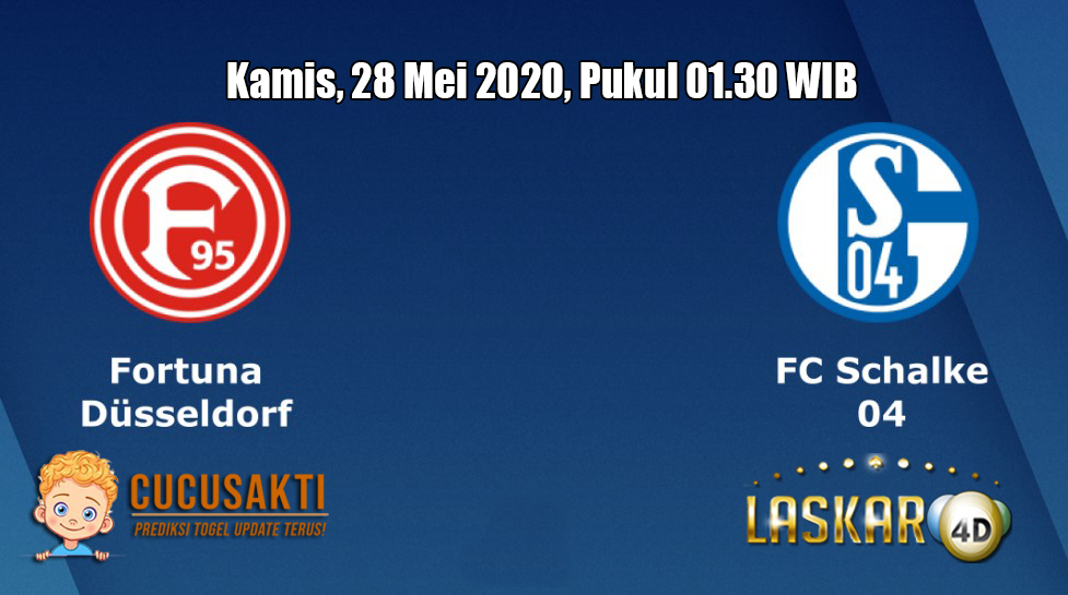 Prediksi Fortuna Dusseldorf VS Schalke 04 28 Mei 2020