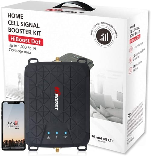 HiBoost 4G LTE Cell Phone Signal Booster for Home