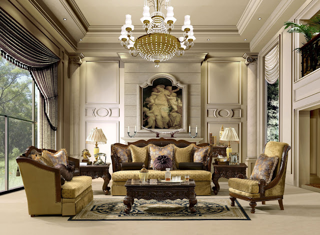 awesome antique modern living room designs | Best Furniture Ideas for Home: Traditional Classic ...