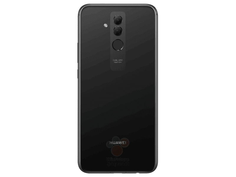 Black variant of Mate 20 Lite
