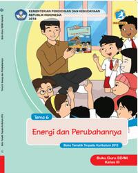 Buku tema 6 Guru Kelas 3 K13 2018