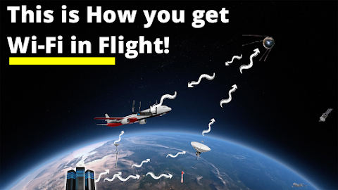 How you can access wifi in flight - VivekTechWorld