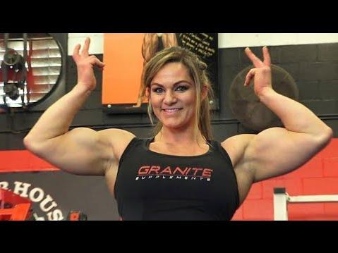 IFBB Pro, Training Maximum, Female Bodybuilding Models | Video