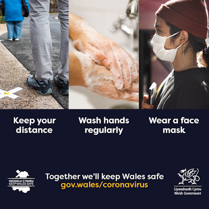 COVID safety Wales Government
