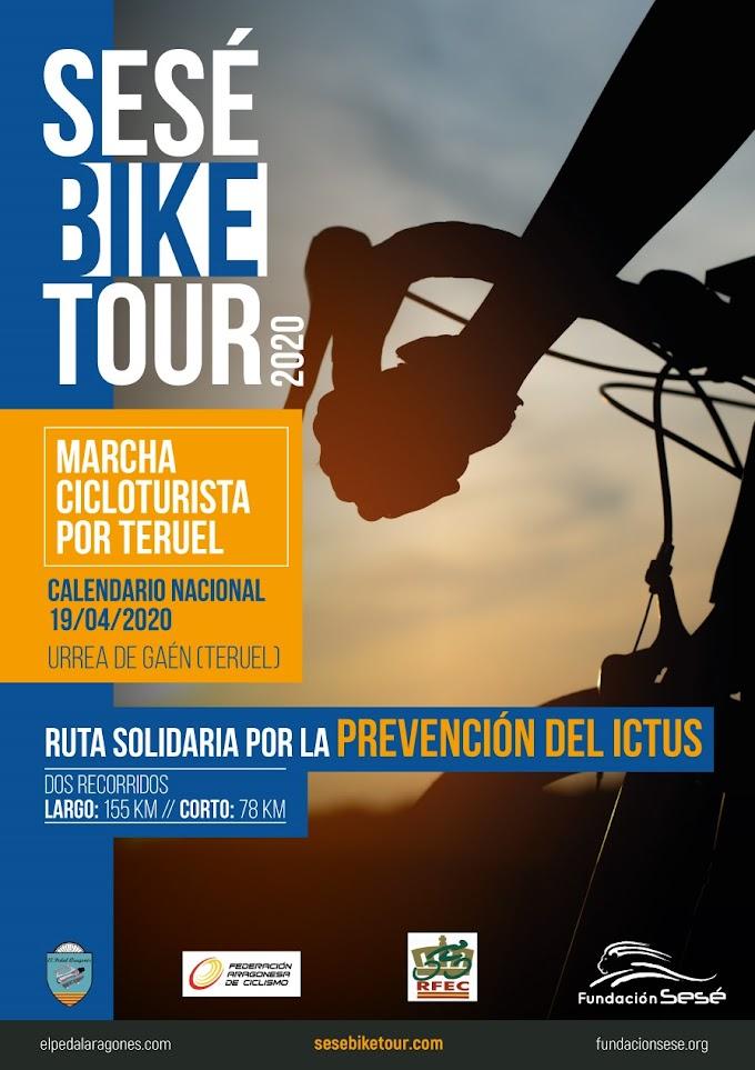 La marcha 'Sesé Bike Tour' contará con Alberto Contador