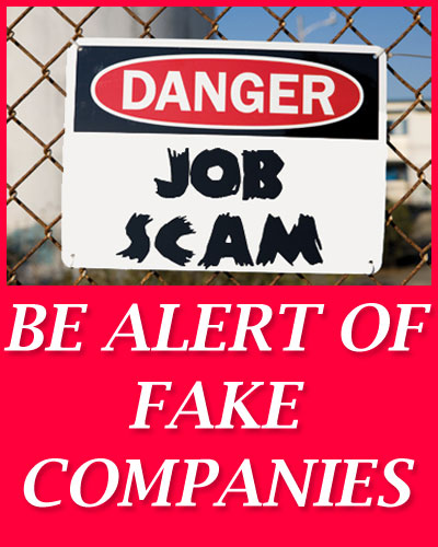 Fake Companies List - Latest blacklisted companies