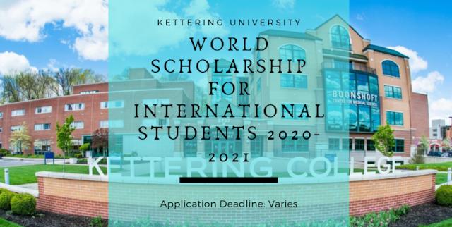 منحة مميزة تقدمها جامعة كيترينج للطلاب الدوليين لدراسة البكالوريوس في الولايات المتحدة الامريكية 2020-2021