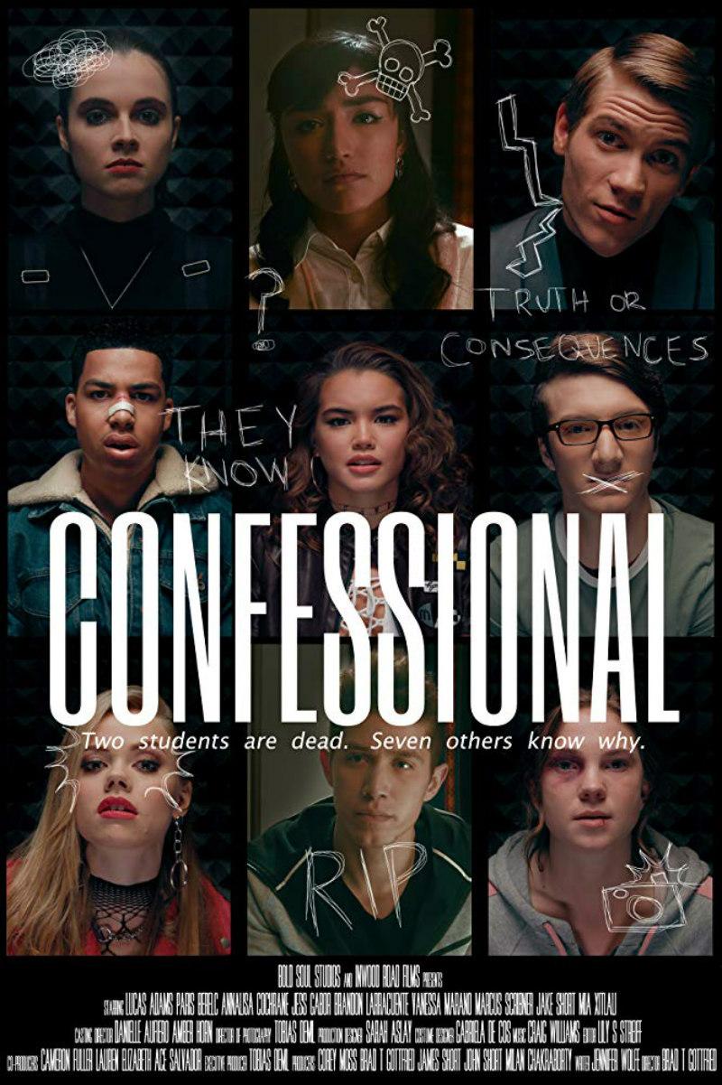confessional shudder poster