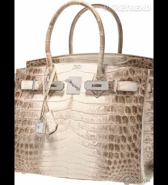487bbef0b2f Bolsa mais cara do mundo é feita de couro de crocodilo
