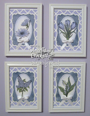 "ODBD ""Fancy Labels"", ""Easter Blessings"", ""Let The Earth Rejoice"", ""Don't Worry"", ""Lilac"" Designer Angie Crockett"