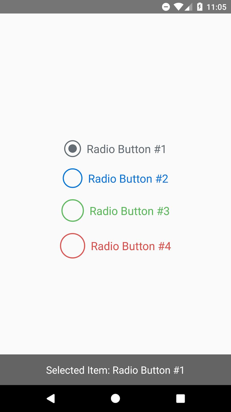 React native Create Custom Radio Button Component | SKPTRICKS