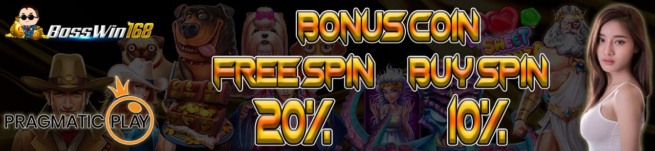 Bonus Free Spin 20%