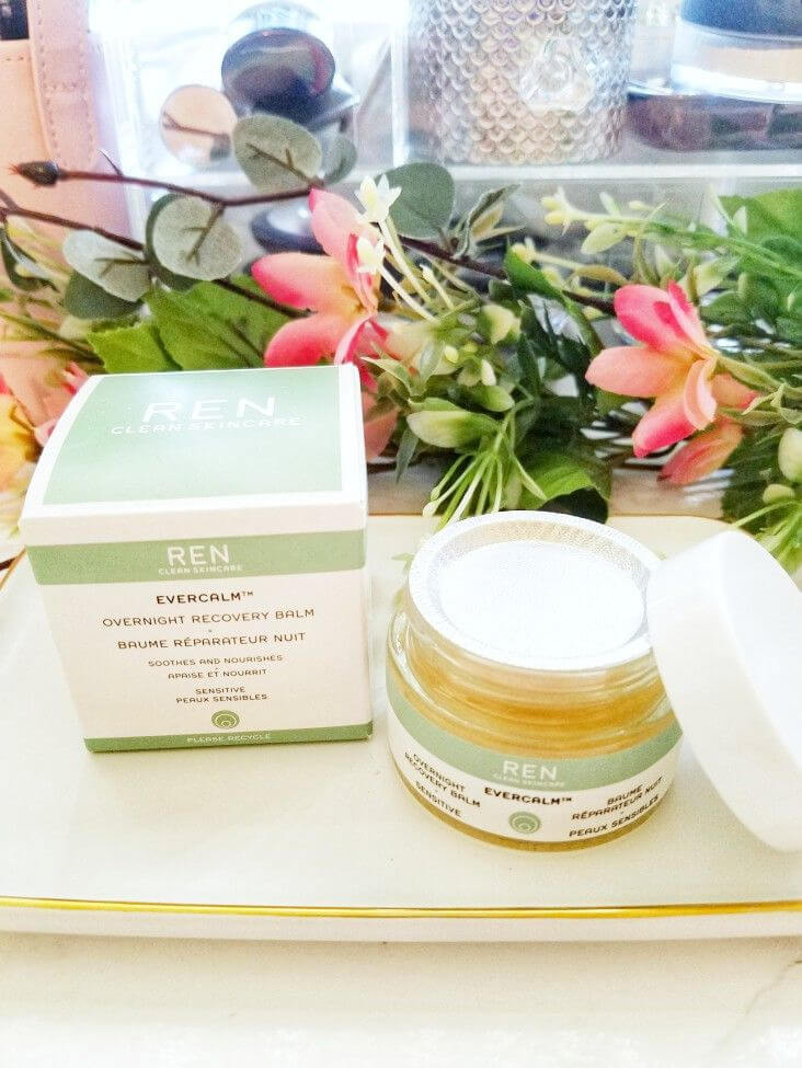Combat Very Dry Winter Skin with REN Evercalm Overnight Recovery Balm 2