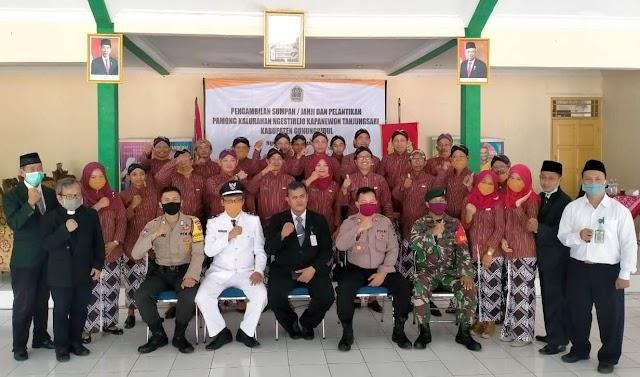 Pamong Kalurahan Ngestirejo dilantik 17 Juni 2020