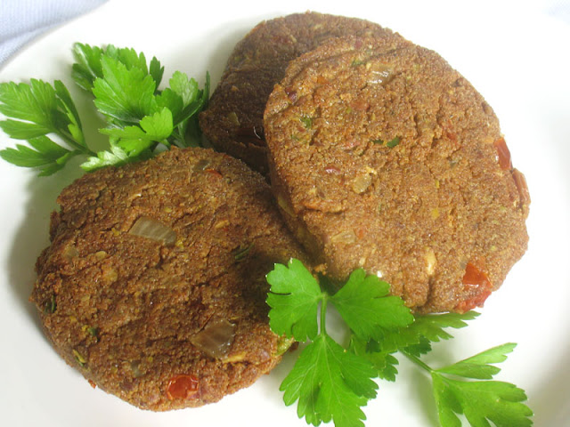 spiced teff cakes