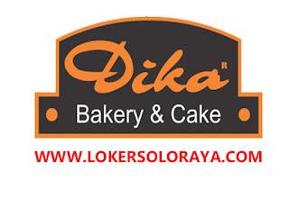 Lowongan Kerja Surakarta Terbaru Bulan Juni 2020 di Dika Bakery & Cake