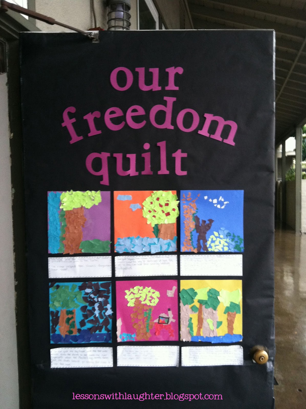 black history month craft ideas freedom quilt and a freebie lessons with laughter 5956