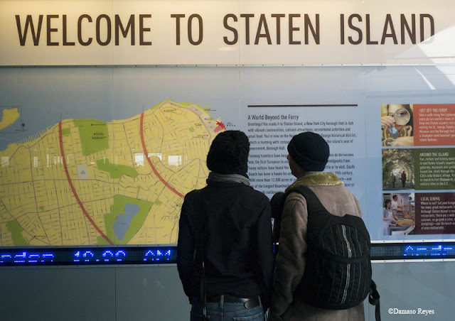 Welcome to Staten Island sign