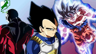 Goku, Vegeta and Jiren
