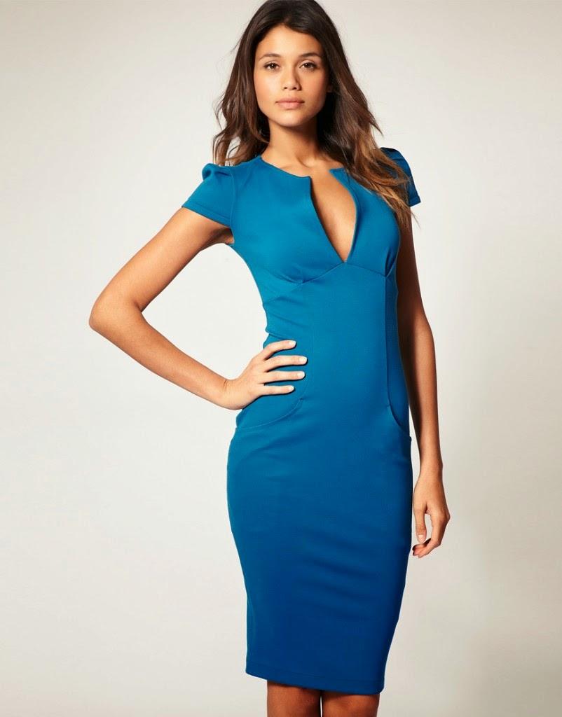 Fabulosos vestidos para la oficina vestidos de moda 2015 for Trajes para oficina