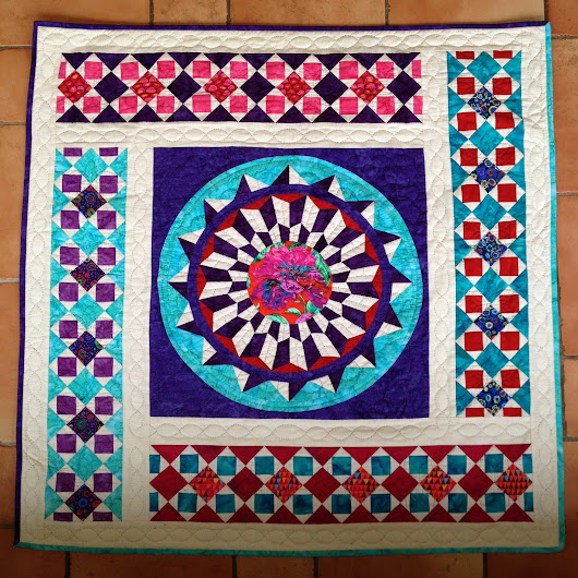 "Quilt ""keep on dreaming"""