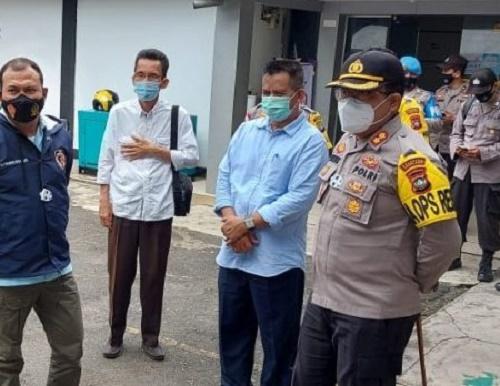 Kapolresta Barelang Pimpin Pengecekan Pengamanan Rapat Pleno Terbuka Tingkat Kecamatan