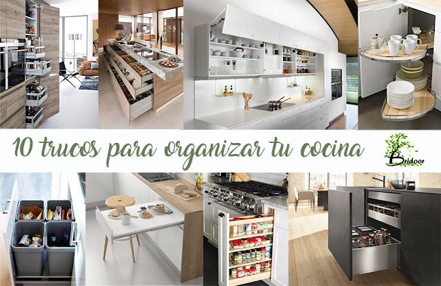 10 trucos para organizar tu cocina