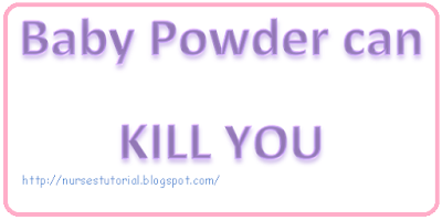 Talc: Hidden Danger of Baby Powder