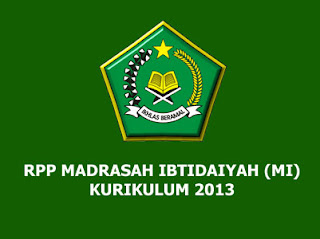 RPP Bahasa Arab Kelas 4 MI Kurikulum 2013