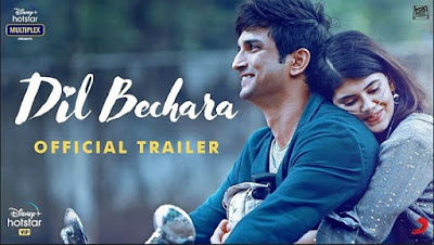 Dil Bechara(2020) Sushant Singh Rajput Movies | Release Trailer | cast | Release Date | Telegram