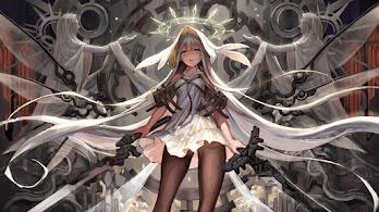 Anime, Girl, Fantasy, Warrior, 4K, #6.1620