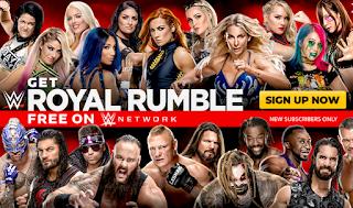 Ver Repeticion WWE Royal Rumble 2020 En HD Español