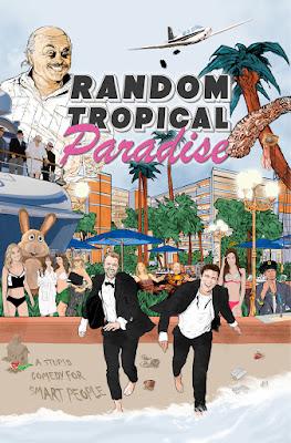 Random Tropical Paradise Poster
