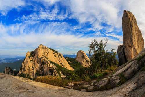 Bukhansan National Park South Korea