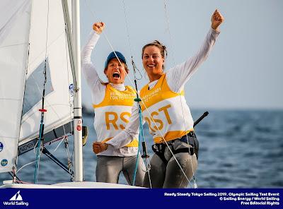 Camille Lecointre et Aloïse Retornaz iront aux Jeux Olympiques 2020