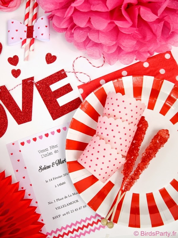 Idées Festives et Rapides pour la Saint Valentin | BirdsParty.fr