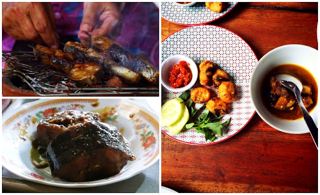 12 Kuliner Makanan Khas Bantul, Yogyakarta - Olahan Ikan Sidat : Sate, Tongseng Ikan Sidat