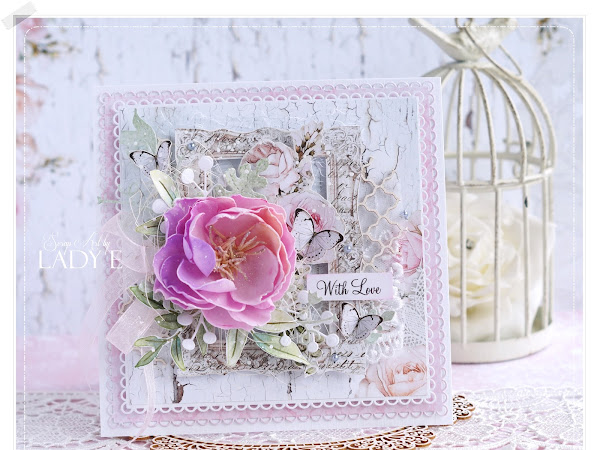 Romantic Card with Lemoncraft / Romantyczna Kartka